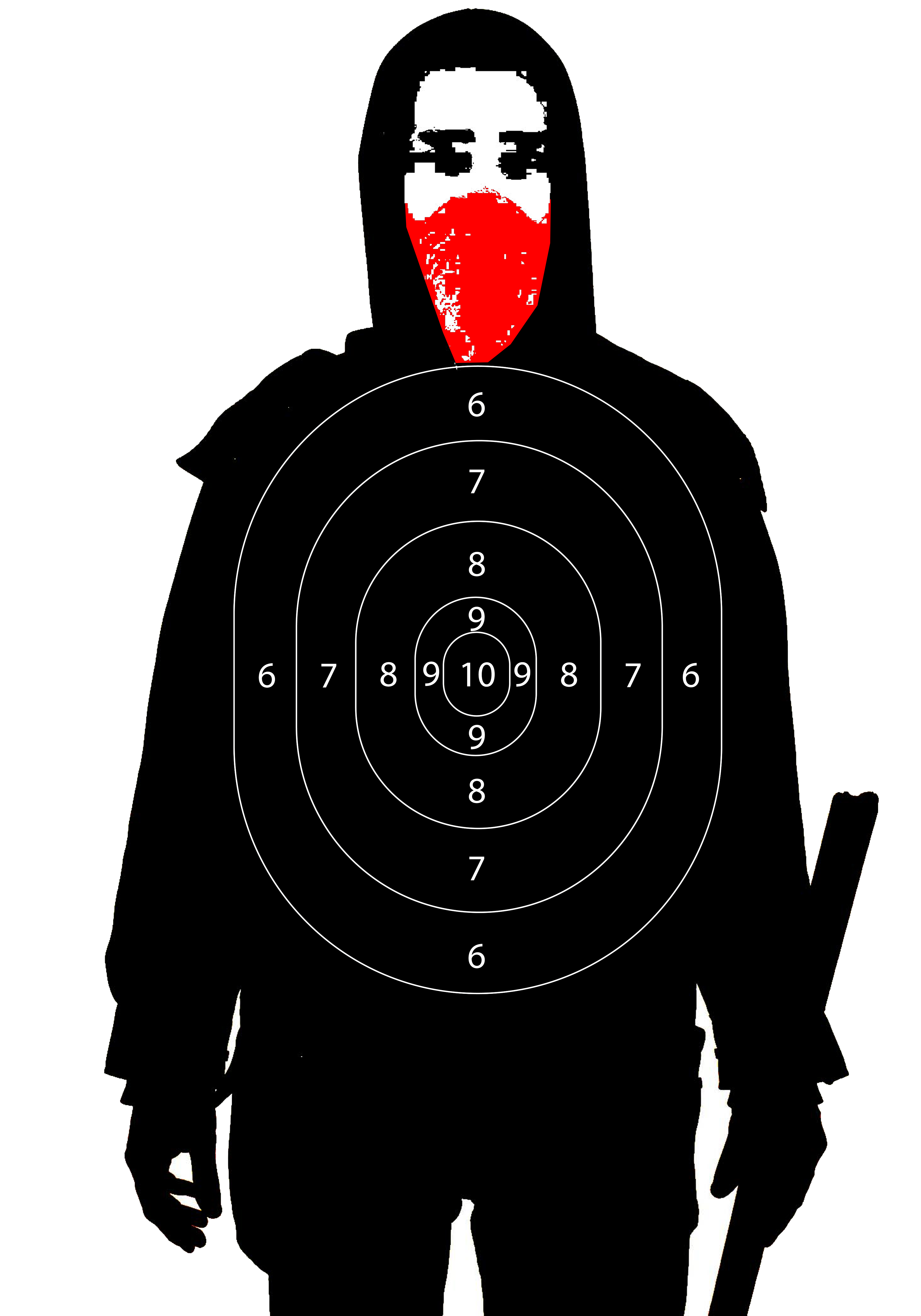 Training and practice at the range. Drills and target recommendations.-antifa-target.png