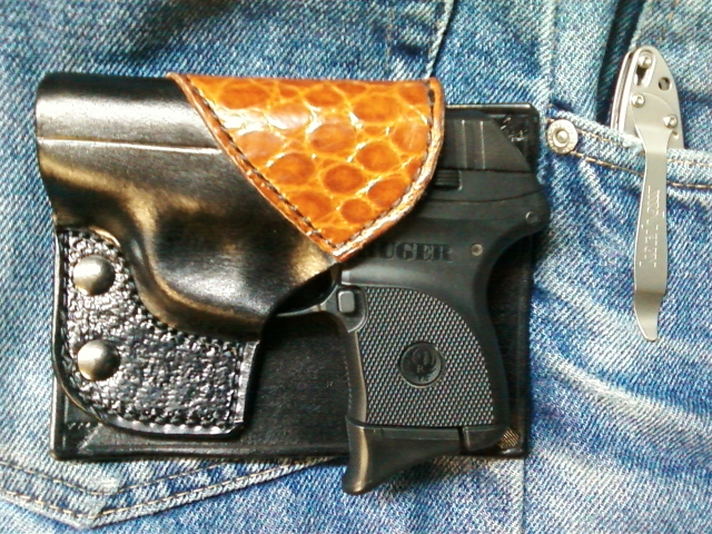 My new LCP front pocket holster - Page 3
