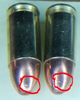LC9s slide lock back on partially empty mag.-bulletgouge.jpg
