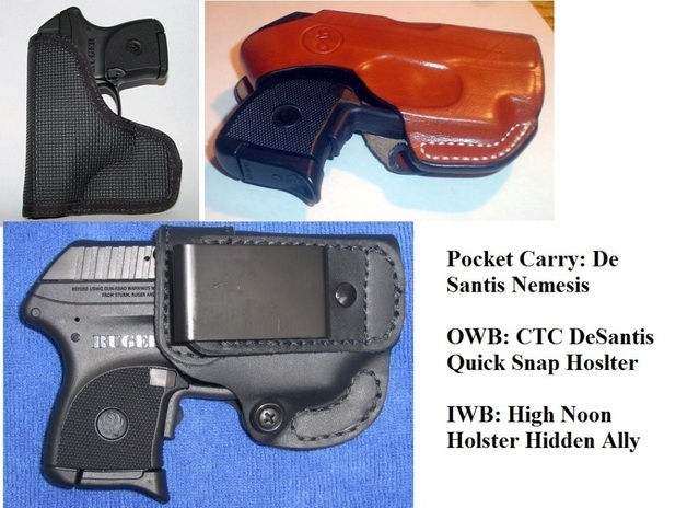 Help needed with LCP holster options