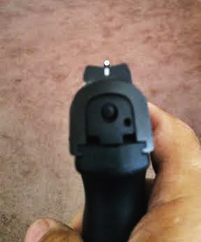 TruGlo TFO front sight for Ruger SR series
