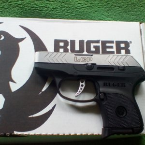 Ruger LCP 10th Anniversary Edition (Left)