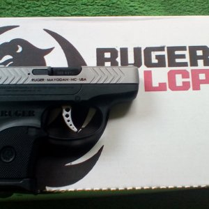 Ruger LCP 10th Anniversary Edition (Right)