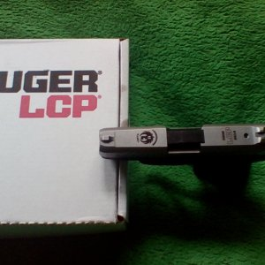 Ruger LCP 10th Anniversary Edition (Top)